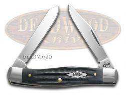 Case xx Mini Moose Knife Second Cut Jigged Gray Bone Stainless Pocket 10670