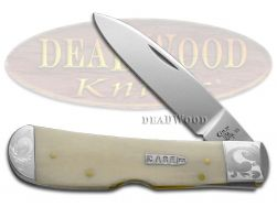 Case xx Tribal Lock Knife Scrolled Natural Bone 1/300 Stainless Pocket Knives