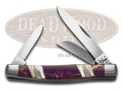 Case xx Stockman Knife Exotic King's Mine Purple Turquoise 1/500 Stainless 11120