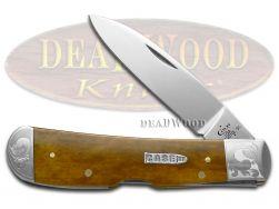 Case xx Tribal Lock Knife Scrolled Antique Bone 1/500 Stainless Pocket  11643