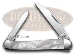 Case xx Genuine Mother Of Pearl Mini Copperhead Pocket Knife 11926 Knives