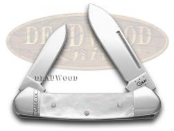 Case xx Baby Butterbean Knife Genuine Mother of Pearl Stainless Pocket 11931