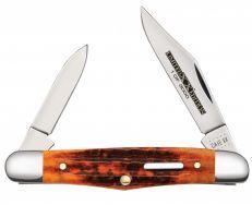 Case xx Half Whittler Knife Series XXXVI Second Cut Autumn Bone 1/3000 12185