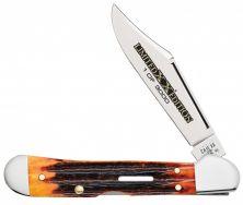 Case xx Mini Copperlock Knife Series XXXVI Second Cut Autumn Bone 12187 1/3000
