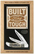 Case xx Ford Motor Company Folding Hunter Knife Display Set Stainless 14313