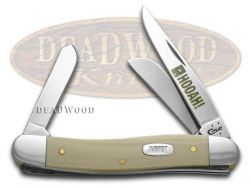 Case xx U.S. Army Stockman Knife HOOAH Tan G-10 Stainless Pocket Knives 15013