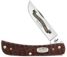 Case xx U.S. Army Sodbuster Jr. Knife Jigged Burnt Walnut Bone Stainless 15027