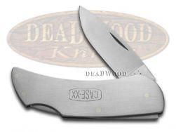 Case xx Executive Lockback Knife Logo Engraved Stainless Steel Pocket 00158