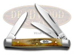 Case xx Small Stockman Knife Genuine Sambar Stag Stainless Pocket Knives 00178