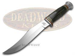 Case xx Fixed Blade Hunter Knife Genuine Buffalo Horn Handle Stainless 17910