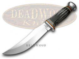 Case xx Fixed Blade Skinner Hunter Knife Genuine Buffalo Horn Stainless 17915