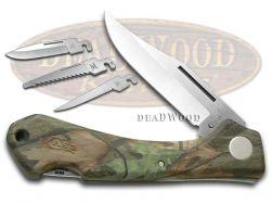 Case xx Caliber xx-Changer Knife Camo Zytel Stainless Pocket Knives 18335