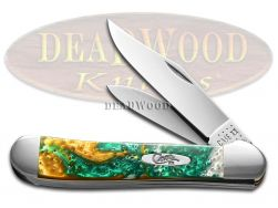 Case xx Copperhead Smooth Emerald River Corelon 20148ER Stainless Pocket Knife