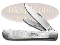 Case xx Copperhead Smooth Heavenly Pearl Corelon 20148HP Stainless Pocket Knife