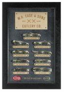 Case xx 9-Knife Mint Set Tang Stamp Series Olive Green Bone 1/350 21519 Knives