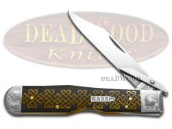 Case xx Cheetah Knife Celtic Knot Antique Bone Scrolled 1/200 Stainless Knives
