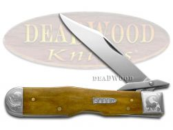 Case xx Cheetah Knife Smooth Antique Bone 1/300 Stainless 21968E Pocket Knives