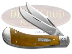 Case xx Saddlehorn Knife Smooth Antique Bone 1/500 Stainless 21971 Pocket Knives