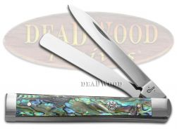 Case xx Doctor Knife Genuine Paua Abalone Stainless Steel Pocket Knives 22595