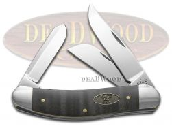 Case xx Sowbelly Knife Black Curly Maple Wood Stainless Pocket Knives 23354
