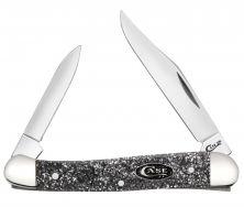 Case xx Mini Copperhead Knife Silver Stardust Kirinite Sparxx Stainless 23524