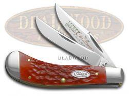 Case xx Merry Christmas Dark Red Bone Saddlehorn Stainless 25503 Pocket Knife