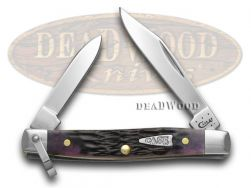 Case xx Purple Haze Jigged Bone Pen Pocket Knife 25601 Knives