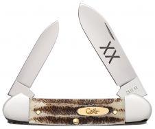 Case xx Canoe Knife Jigged Vintage Bone Tru-Sharp Stainless 25962 Pocket Knives