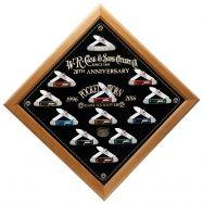 Case xx Canoe Knife Set 12-Piece Jigged Bone 1/250 Pocket Worn 20th Anniv 26290