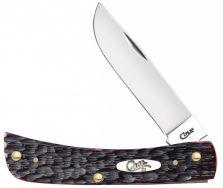 Case xx Sodbuster Jr Knife Jigged Crimson Bone Stainless 27383 Pocket Knives
