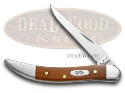 Case xx Toothpick Knife Smooth Chestnut Bone Stainless Pocket Knives 28703