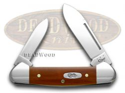 Case xx Baby Butterbean Knife Smooth Chestnut Bone Stainless Pocket Knives 28708