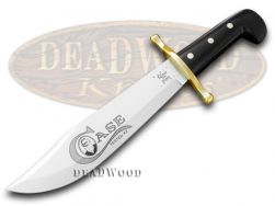 Case xx Black Synthetic Fixed Blade Bowie Stainless Knife 311 Knives
