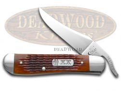 Case xx Jigged Autumn Harvest Bone Russlock Stainless Pocket Knife 33502 Knives