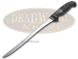 """Case xx Kitchen Cutlery Hunter's 9"""" Fillet Knife Black Synthetic Stainless 00363"""