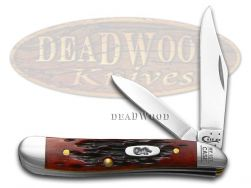 Case xx Peanut Knife Old Red Bone My First Case Stainless Pocket Knives 03693