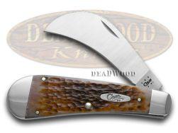Case xx Jigged Caramel Bone Hawkbill Pocket Knife 41511 Knives