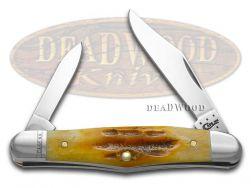 Case xx Deep Canyon Goldenrod Bone Half Whittler Stainless 49999 Pocket Knife