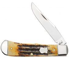 Case xx 6.5 Bone Stag Backpocket Chrome Vanadium Pocket Knife 50475 Knives