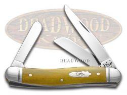 Case xx Medium Stockman Knife Smooth Antique Bone Stainless Pocket Knives 58185