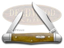 Case xx Half Whittler Knife Smooth Antique Bone Stainless Pocket Knives 58189