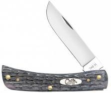 Case xx Sodbuster Jr Knife Pocket Worn Jigged Gray Bone CV Steel 58412 Knives
