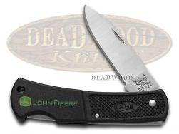 Case xx John Deere Lockback Knife Black Zytel Synthetic Stainless Pocket 05877