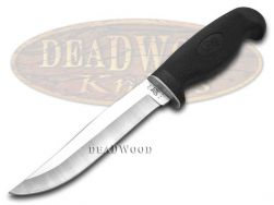 "Case xx Fixed Blade 5"" Hunter Knife Lightweight Black Synthetic Stainless 00592"