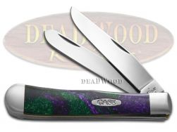 Case xx Trapper Knife Picasso Corelon Handle Stainless Pocket Knives 6073PI