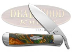 Case xx Russlock Knife Peacock Corelon Stainless 6084PCK Pocket Knives