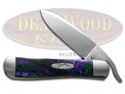 Case xx Russlock Knife Witches Brew Corelon Stainless 6084WTB Pocket Knives