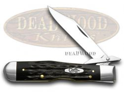 Case xx Cheetah Knife Jigged Genuine Buffalo Horn Stainless Pocket Knives 65013
