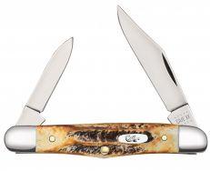 Case xx Half Whittler Knife 6.5 BoneStag Stainless 65320 Pocket Knives