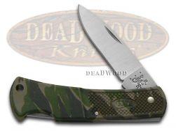 Case xx Caliber Lockback Knife Lightweight Camo Stainless Pocket Knives 00662